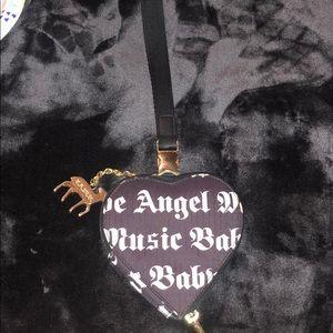 L.A.M.B. For Lesportsac Heart Wristlet